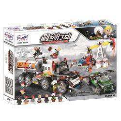 Winner 5105 Xếp hình kiểu Lego SHARP ARROWS ACTION No. 01 Oil Base Gốc dầu số 01 792 khối