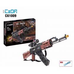 Doublee Cada C61009 C61009W Lego Technic Block Gun Ak-47 Assault Rifle Xếp hình Súng Trường Tấn Công Ak47 738 khối