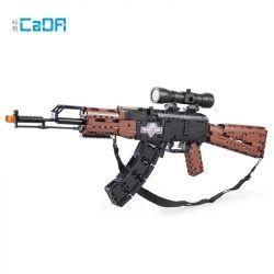 DOUBLEE CADA C61009 61009 Xếp hình kiểu Lego TECHNIC AK-47 Assault Rifle Súng trường tấn công AK47 738 khối