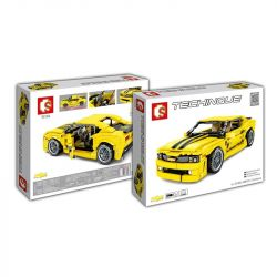 SEMBO 701504 Xếp hình kiểu Lego TECHNIC Bumblebee-Camaro 558 khối