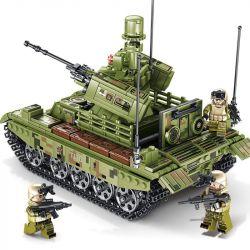 SEMBO 105712 Xếp hình kiểu Lego IRON BLOOD HEAVY EQUIPMENT Iron Blood Heavy Equipment xe tăng chiến đấu hạng nặng 894 khối