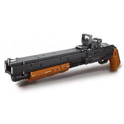 XINGBAO XB-24001 24001 XB24001 Xếp hình kiểu Lego PUBG BATTLEGROUNDS Battlefield Firewire Winchester Model (M) 1887 Warfield Winchester M1887 霰 霰 枪 Súng Ngắn M1897 863 khối