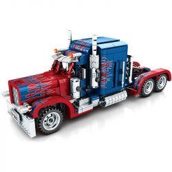 Sembo 701803 (NOT Lego Technic Transformers ) Xếp hình Ô Tô Optimus Prime Biến Hình 849 khối