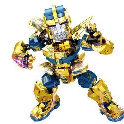 SHENG YUAN SY SY1319 1319 Xếp hình kiểu Lego MARVEL SUPER HEROES Heroes Assemble The Avengers Imperfect Không Hoàn Hảo 785 khối