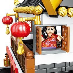 ZHEGAO QL0957 0957 Xếp hình kiểu Lego SEASONAL Heppy New Year Tết nguyên đán Trung Quốc 1187 khối