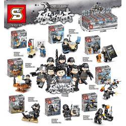 Sheng Yuan SY SY6195 Xếp hình kiểu LEGO Military Army Falcon Commandos Shadow Strike: tàu phá băng 287 khối
