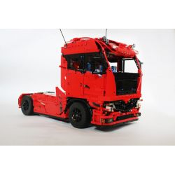 REBRICKABLE MOC-4564 4564 MOC4564 Xếp hình kiểu Lego TECHNIC European Towing Truck Xe đầu kéo Châu Âu 4120 khối