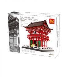 WANGE 6212 Xếp hình kiểu Lego CREATOR The Niomon Kiyomizu-dera Temple Of Kyoto Đền Kiyomizu-dera, Kyoto, Nhật Bản 2409 khối