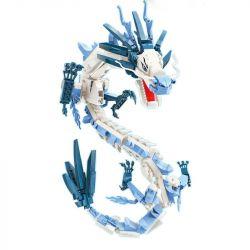 Enlighten S0102 0102 Qman S0102 0102 KEEPPLEY S0102 0102 Xếp hình kiểu Lego NEZHA Keepley Mùa xuân quỷ dữ của Nezha: Ao Binglong 837 khối