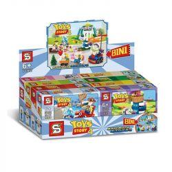 SHENG YUAN SY SY1450 1450 Xếp hình kiểu Lego Toy Story Ocean Carousel Câu Chuyện Trò Chơi 931 khối