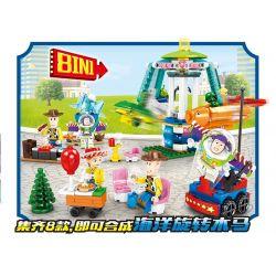 Sheng Yuan SY SY1450 Xếp hình kiểu LEGO Toy Story câu chuyện trò chơi 931 khối