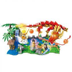 Sheng Yuan 1403 SY1403 (NOT Lego Dragon Ball Super Dragonball ) Xếp hình Trận Chiến Mạnh Nhất Của Dragon Ball: Dragon Ball Adventure 516 khối