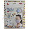 Khẩu trang 3M 9501C xanh tím hồng KN95 có đệm mũi lọc hơn 95% bụi siêu mịn PM2.5 có van thở, đeo tai, chính hãng
