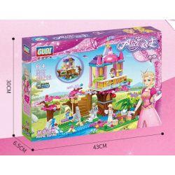 Gudi 9018 (NOT Lego City Girl Secret Gardan ) Xếp hình Công Chúa Alice: Khu Vườn Bí Mật 498 khối