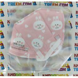 Khẩu trang trẻ em 3M 9561V KN95 lọc hơn 95% bụi siêu mịn PM2.5 có van thở, đệm mũi