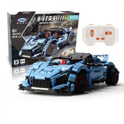 XingBao XB-21001 21001 Xếp hình kiểu LEGO Technic xe đua công thức 1 807 khối điều khiển từ xa