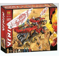 Bela 11332 Lari 11332 BLANK 4021 PRCK 61029 Xếp hình kiểu THE LEGO NINJAGO MOVIE Land Bounty Renewal Cuộc Chiến Trên Sa Mạc 1178 khối