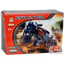 NOT Lego TECHNIC 8433 Cool Movers, Decool 3317 3318 3319 3320 3321 3322 Jisi 3317 3318 3319 3320 3321 3322 Xếp hình Movers tuyệt vời 215 khối