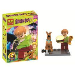 Bela 10449 Lari 10449 Xếp hình kiểu Lego SCOOBY-DOO Coolby House Small Scene Cảnh Thu Nhỏ