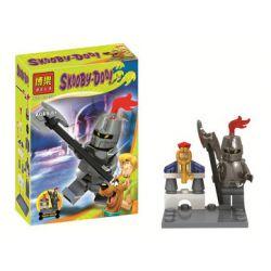 Bela 10454 Lari 10454 Xếp hình kiểu Lego SCOOBY-DOO Coolby House Small Scene Cảnh Thu Nhỏ