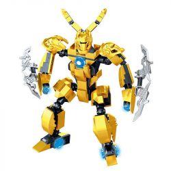LELE 39027 Xếp hình kiểu Lego KING OF GLORY HEGEMONY 皇者荣耀 金属风暴 墨子 King's Glory Metal Storm Ink Mực Bão Kim Loại. 233 khối