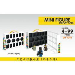 LELE 79062 Xếp hình kiểu Lego COLLECTABLE MINIFIGURES Mini Figure Display Case Craftsman Show Box Craftsman Show Box.
