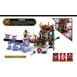 SHENG YUAN SY SD3301 3301 Xếp hình kiểu Lego CHRONICLES OF THE GHOSTLY TRIBE Ghost Tribes Tribal Glory Koli's Crisis Ghost Prisoner Crisis Of Kris Of Horde Glory Ghost Carriage 269 khối