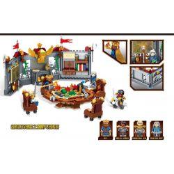 SHENG YUAN SY SD3352 3352 Xếp hình kiểu Lego CHRONICLES OF THE GHOSTLY TRIBE Ghost Tribes Tribal Glory Shengguang Annihilation Strategic Meeting Hội Nghị Chiến Lược Hủy Diệt Holy Light 439 khối