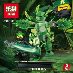 LEPIN 03065 03065A 03065B 03065C 03065D Xếp hình kiểu THE LEGO NINJAGO MOVIE The New Ninjasaga Blocks Full Set Of Role Exclusive Machine Transparent Version 4 Full Bộ Nhân Vật độc Quyền Phiên Bản Tron