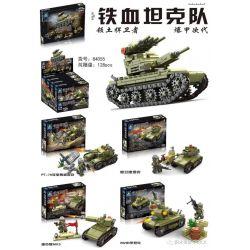 Kazi KY84055 84055 KY84055-1 84055-1 KY84055-2 84055-2 KY84055-3 84055-3 KY84055-4 84055-4 Xếp hình kiểu Lego MILITARY ARMY 领土捍卫者 爆甲次代 Four Of Iron Blood Tanks Có Thể Kết Hợp 4 Loại Xe Tăng Răng Cưa g