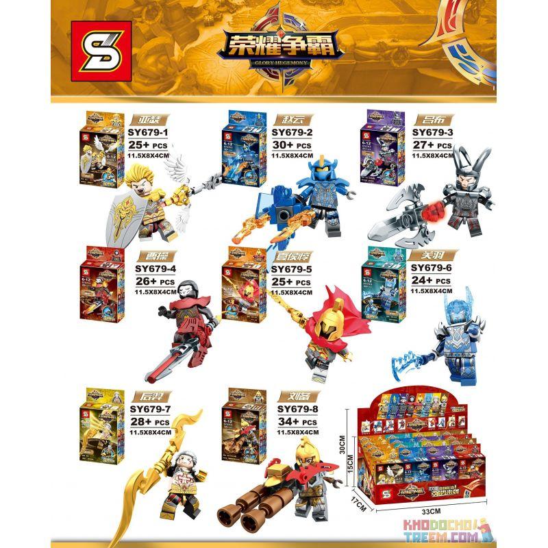 SHENG YUAN SY 679 SY679 SY679-1 679-1 SY679-2 679-2 SY679-3 679-3 SY679-4 679-4 SY679-5 679-5 SY679-6 679-6 SY679-7 679-7 SY679-8 679-8 Xếp hình kiểu Lego KING OF GLORY HEGEMONY Hundreds Of People 8 8