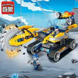Enlighten 2405 Qman 2405 Xếp hình kiểu Lego KYANITE SQUAD Kyanite Squad Rock Grinder Slim Squad Burst Giant Wheel Bánh Xe Nổ 279 khối
