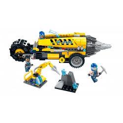 Enlighten 2409 Qman 2409 Xếp hình kiểu Lego KYANITE SQUAD Kyanite Squad Driller Platform Slim Squad Split Rồng Tách đất 238 khối