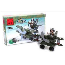 Enlighten 804 Qman 804 Xếp hình kiểu Lego MILITARY ARMY CombatZones Reconnaissance Reconnaissance Aircraft Máy Bay Trinh Sát 50 khối