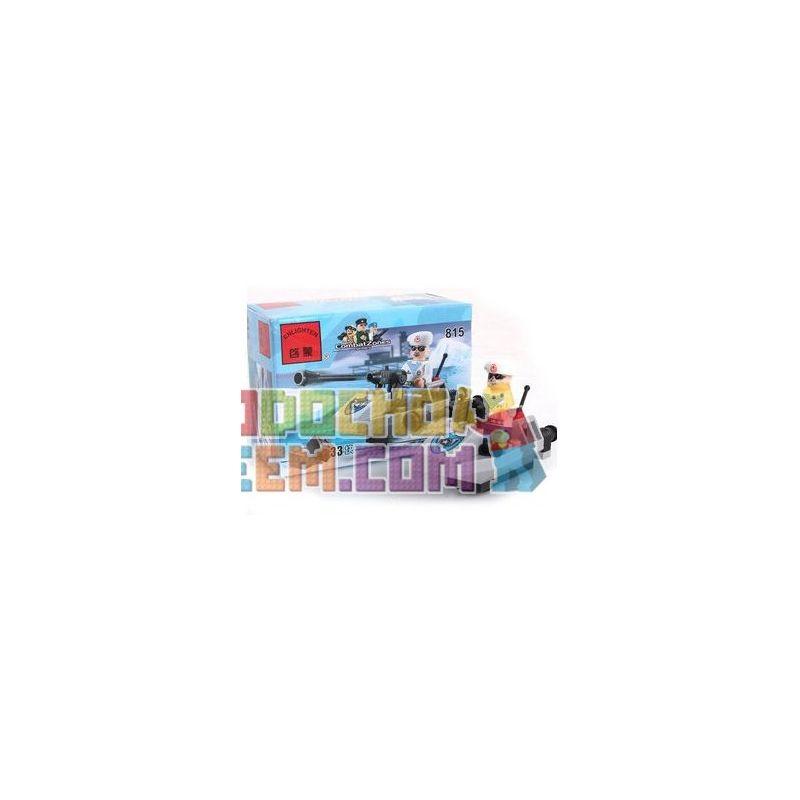 Enlighten 815 Qman 815 Xếp hình kiểu Lego MILITARY ARMY CombatZones Assault Boat Thuyền Xung Kích 33 khối