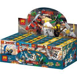 LELE 31087 31087-1 31087-2 31087-3 31087-4 31087-5 31087-6 31087-7 31087-8 Xếp hình kiểu THE LEGO NINJAGO MOVIE The LELE Ninja Movie House Small Carrier 8 8 Xe Cấu Hình Nhỏ gồm 8 hộp nhỏ