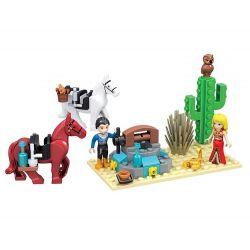 Winner 5017 Xếp hình kiểu Lego MERMAID Wei Mei Fish Small Oasis Ốc đảo Nhỏ 102 khối
