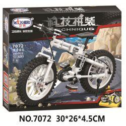 Winner 7072 Xếp hình kiểu Lego TECHNIC The Folding Bicycle Folding Bike 1 6 Xe đạp Gấp 1 6 242 khối