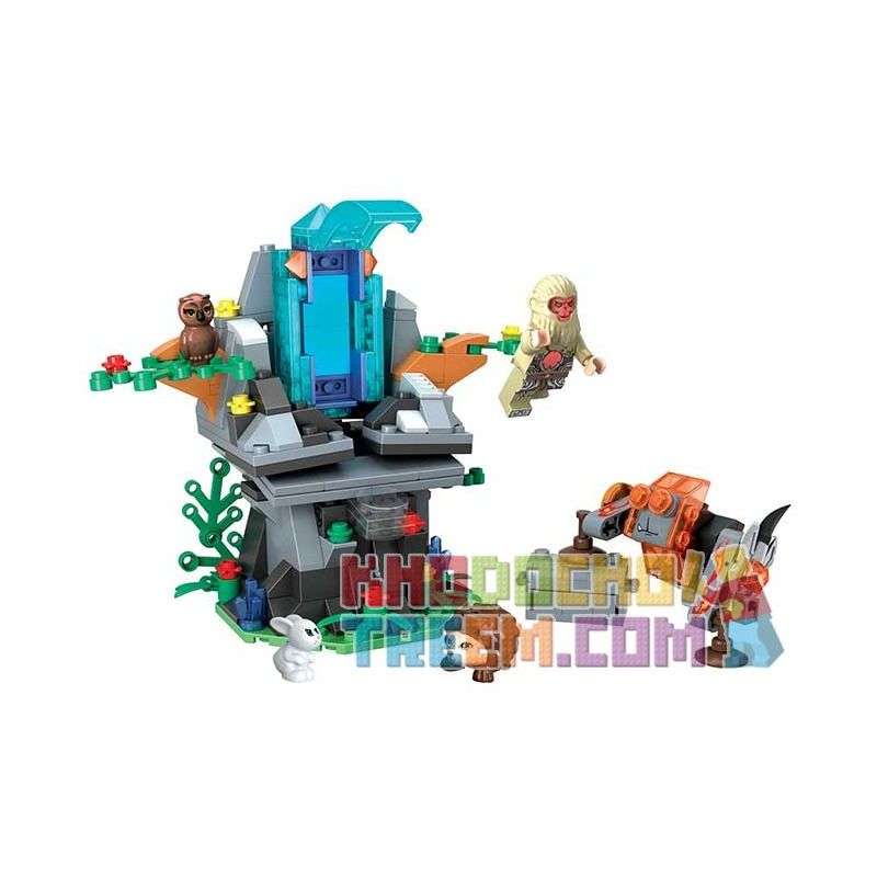 Winner 5041 Xếp hình kiểu Lego MONKIE KID Fantasy Westward Journey The Nuwa Ore Wei Music Magic Westward Journey Female Stone Đá Nuwa 243 khối