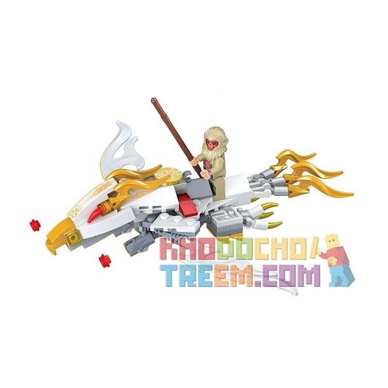Winner 5045 Xếp hình kiểu Lego MONKIE KID Fantasy Westward Journey The Open Cirrus Wei Music Magic Westward Journey Flush Cloud Đám Mây Somersault 110 khối