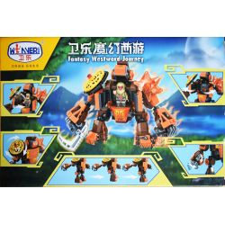 Winner 5046 Xếp hình kiểu Lego MONKIE KID Fantasy Westward Journey The Gigantopithecus Wei Music Magic Westward Journey Giant Monkey Khỉ Khổng Lồ 261 khối
