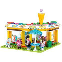 Winner 7031 Xếp hình kiểu Lego City Modern Paradise Cold Drink Shop Cửa Hàng đồ Uống Lạnh 251 khối