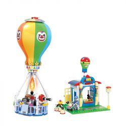 Winner 7032 Xếp hình kiểu Lego City Modern Paradise Hot Air Balloon Khinh Khí Cầu 276 khối