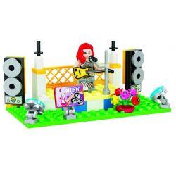 Winner 7039 Xếp hình kiểu Lego City Modern Paradise Grouse Sân Khấu Ca Hát 116 khối