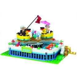 Winner 7041 Xếp hình kiểu Lego City Modern Paradise Rotating Ducklings Vịt Quay 226 khối
