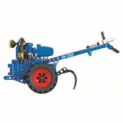 Winner 7069 Xếp hình kiểu Lego TECHNIC The Walking Tractor Hand Tractor 1 10 Máy Kéo đi Bộ 1 10 248 khối