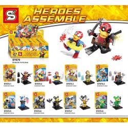 SHENG YUAN SY 670 SY670 SY670-1 670-1 SY670-2 670-2 SY670-3 670-3 SY670-4 670-4 SY670-5 670-5 SY670-6 670-6 SY670-7 670-7 SY670-8 670-8 Xếp hình kiểu Lego MARVEL SUPER HEROES Heroes Assemble Deadpool
