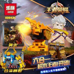 LEPIN 03042 03042A 03042B 03042C 03042D 03042E 03042F Xếp hình kiểu Lego KING OF GLORY HEGEMONY King's Glory House 6 6-in-one 1 Minifigure 6 Mô Hình 6 Trong 1 Phù Hợp Bạo Chúa gồm 6 hộp nhỏ