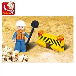SLUBAN M38-B9500 B9500 9500 M38B9500 38-B9500 Xếp hình kiểu Lego Simulated City Dump Truck Xe Tải Tự đổ 93 khối