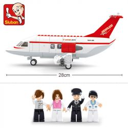 SLUBAN M38-B0365 B0365 0365 M38B0365 38-B0365 Xếp hình kiểu Lego CITY Aviation Aerospace World C-concept Aircraft C-concept Máy Bay 275 khối